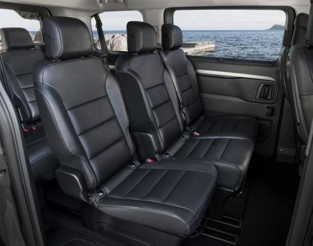 Le Peugeot Traveller possède un grand espace intérieur