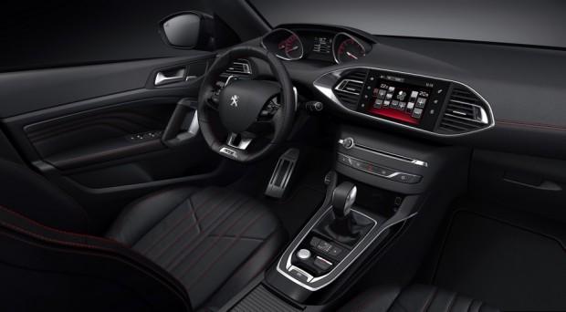 L'intérieur de la Peugeot 308 GT