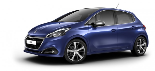 Peugeot 208 Féline Bleu Virtuel