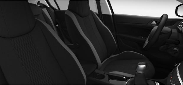 Peugeot 308 Style : Chaîne & Trame Cran Noir Mistral