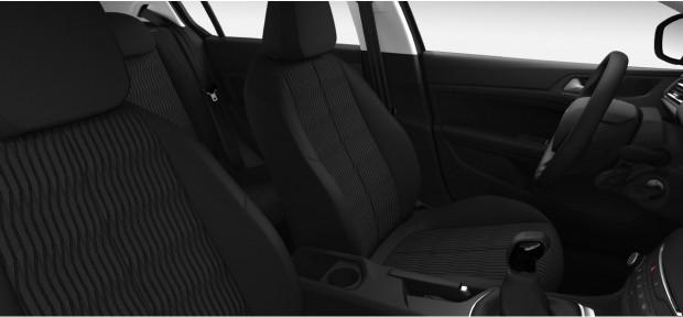 Peugeot 308 Access : Chaîne & Trame Metax Noir Mistral