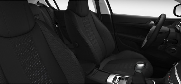 Peugeot 308 Allure : Chaîne & Trame Oxford Noir Mistral