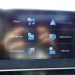 Android Auto dans le Peugeot 5008