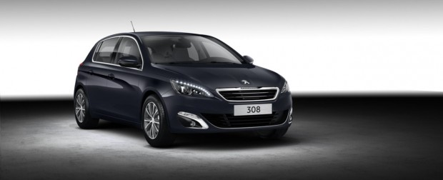 Peugeot 308 Allure Dark Blue