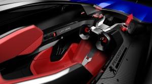 Le Peugeot L500 R HYbrid innove avec le Peugeot i-Cockpit holographique