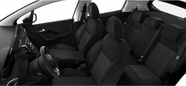 Peugeot 208 Allure : Maille 3D Techmet Mistral