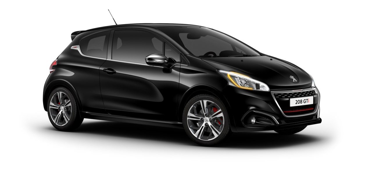 peugeot 208 gti coloris ext rieurs et ambiances. Black Bedroom Furniture Sets. Home Design Ideas