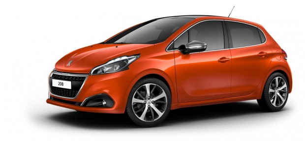 Peugeot 208 Féline Orange Power