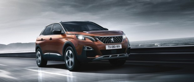 Peugeot 3008 Allure Metallic Copper