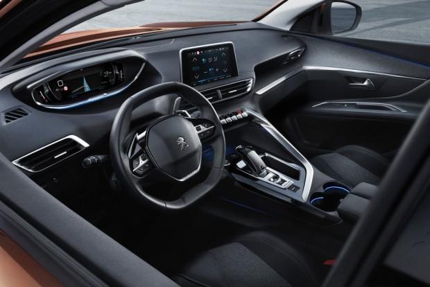 L'habitacle du Peugeot 3008