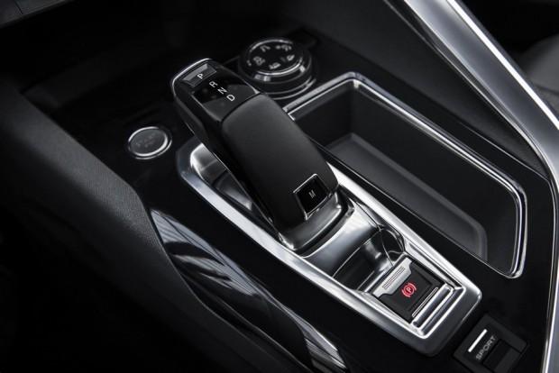 La console centrale du Peugeot 3008