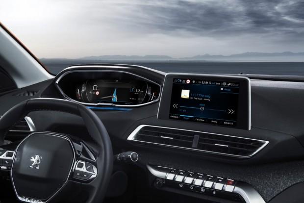 Le Peugeot i-Cockpit du Peugeot 3008