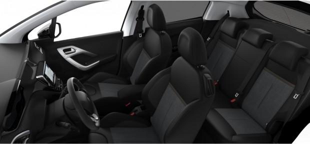 Peugeot 208 Féline : TEP Alcantara Linea Perforata