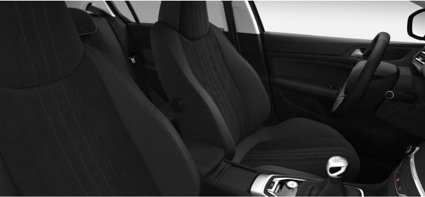 Peugeot 308 Féline : TEP - Alcantara Noir Mistral