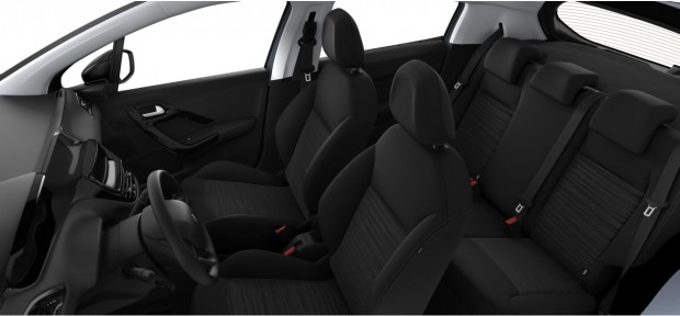 Peugeot 208 Access : Tissu Etnical