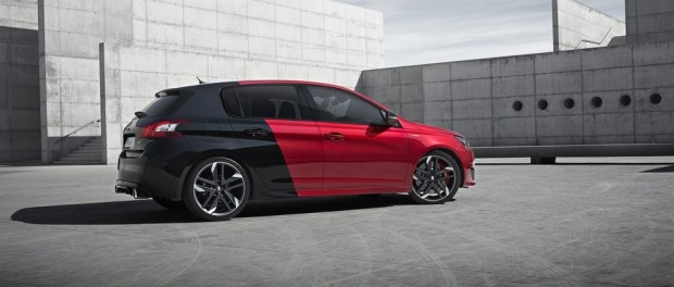 Peugeot 308 GTi by Peugeot Sport Coupe Franche