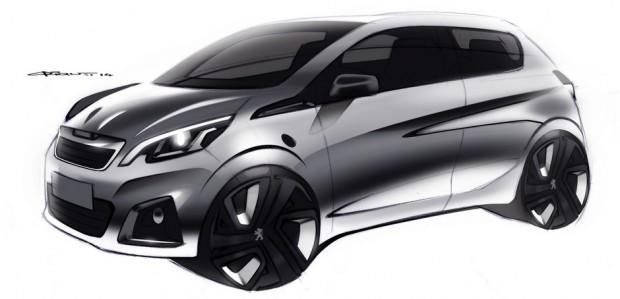 Sketch de la Peugeot 108