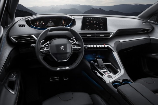 L'intérieur du Peugeot 3008 GT
