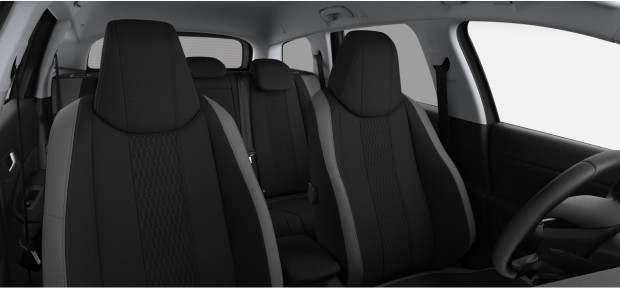 Peugeot 308 SW Style : Chaîne & Trame Cran Noir Mistral