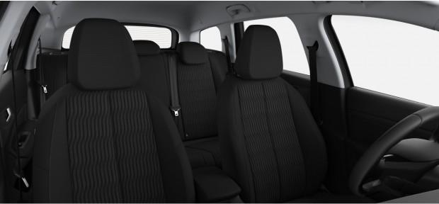 Peugeot 308 SW Active : Chaîne & Trame Metax Noir Mistral avec surpiqûres