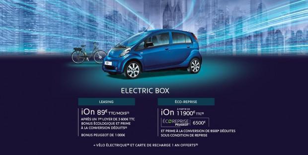 La Peugeot Electric Box