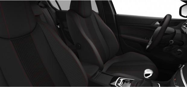 Peugeot 308 GT-Line : Chaîne & Trame Oxford Noir Mistral