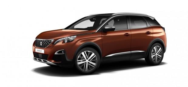 Peugeot 3008 GT Metallic Copper