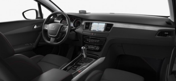 L'intérieur de la Peugeot 508 GT