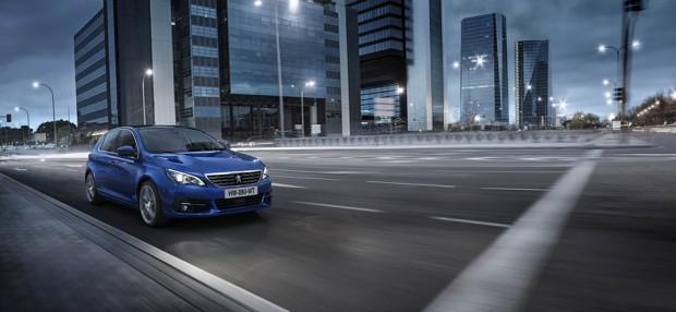Peugeot 308 Allure Bleu Magnetic