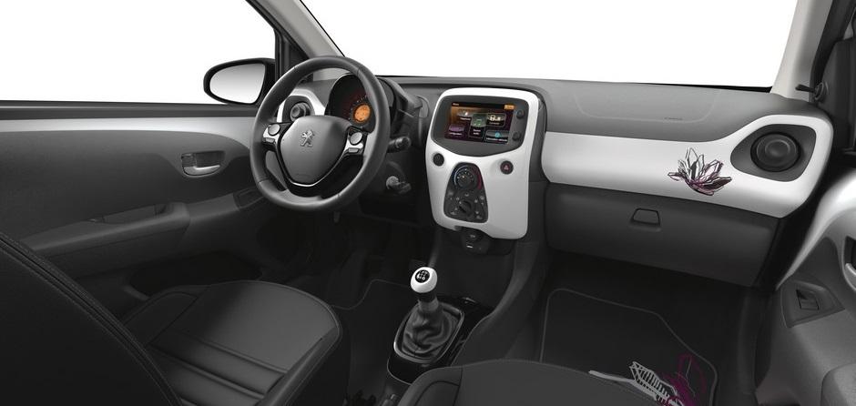 Peugeot 108 les kits de personnalisation forum for Interieur peugeot 108