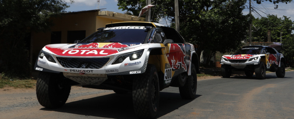 dakar 2017 les peugeot 3008 dkr sont pr ts forum. Black Bedroom Furniture Sets. Home Design Ideas