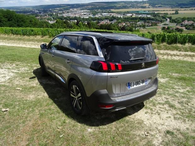 Notre Peugeot 5008 GT
