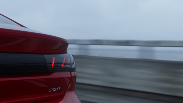 La Peugeot 508 se transforme