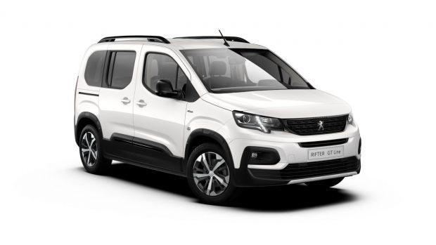 Peugeot Rifter Blanc Banquise