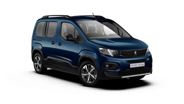 Peugeot Rifter Deep Blue