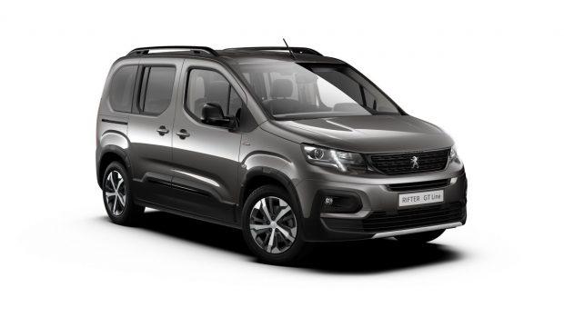 Peugeot Rifter Gris Platinium
