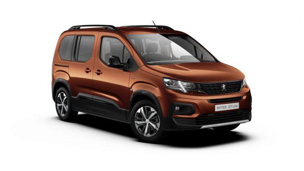 Peugeot Rifter Metallic Copper