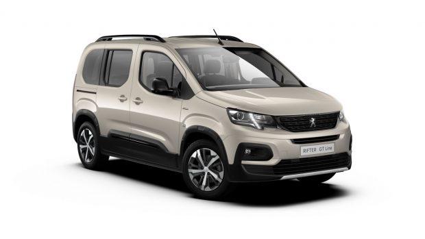 Peugeot Rifter Silky Grey