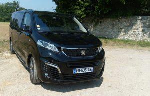 Peugeot Traveller Noir Onyx vue extérieur