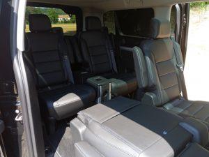 Peugeot Traveller et la modularité des sièges