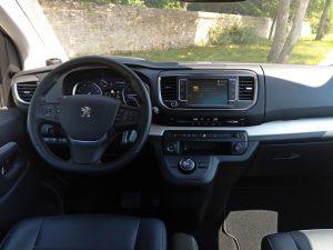 Peugeot Traveller et sa planche de bord