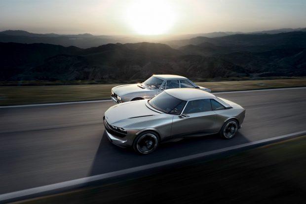 Le Peugeot e-Legend s'inspire du Coupé 504