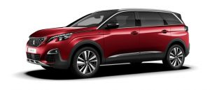 Peugeot 5008 Rouge Ultimate