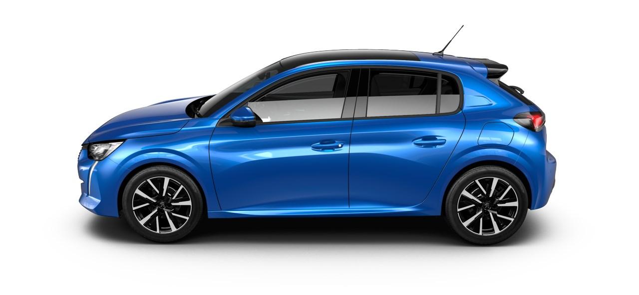 Peugeot 208 Allure Bleu Vertigo