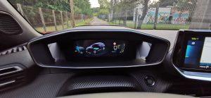 Peugeot e-2008 i-cockpit 3D mode eco