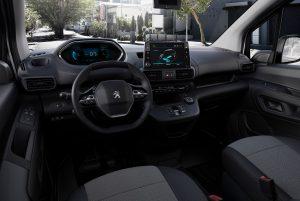 Peugeot e-Partner planche de bord i-cockpit