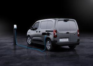 Peugeot e-Partner en charge